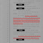 Transcript where the District Attorney's Office admits that they treat all people who represent themselves this was.