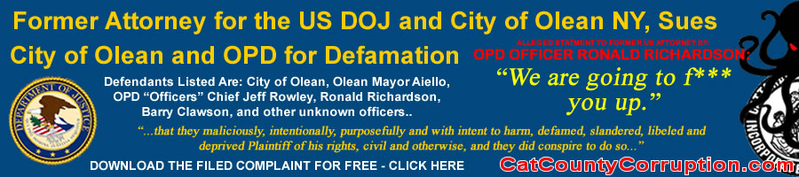 us-attorney-lawsuit-agasint-city-olean-police-department